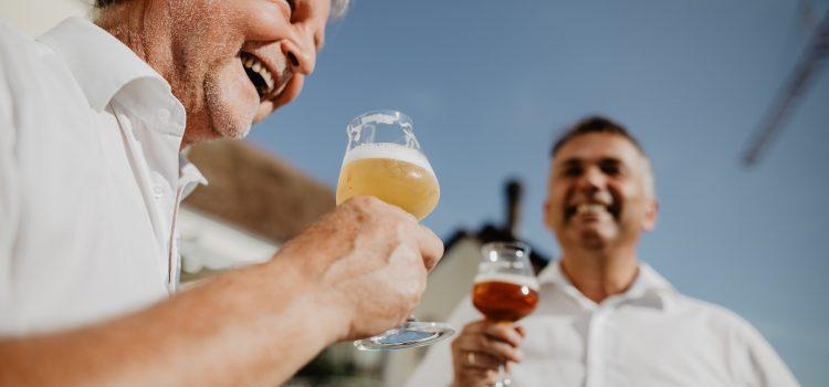 Bier schreibt Geschichten