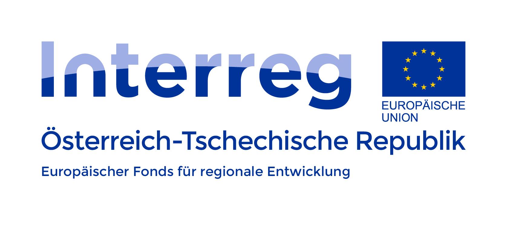 Logo Förderprogramm Interreg Österreich-Tschechische Republik