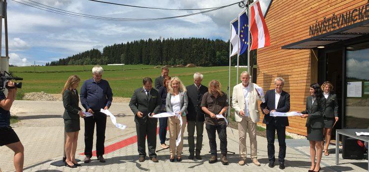 Eröffnung Besucherzentrum Olšina