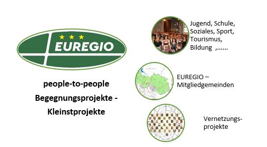 Vernetzung unterstützen –  wo Begegnungen machbar sind: die EUREGIO hilft Ihnen gerne dabei!